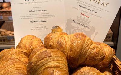Gold-Croissants